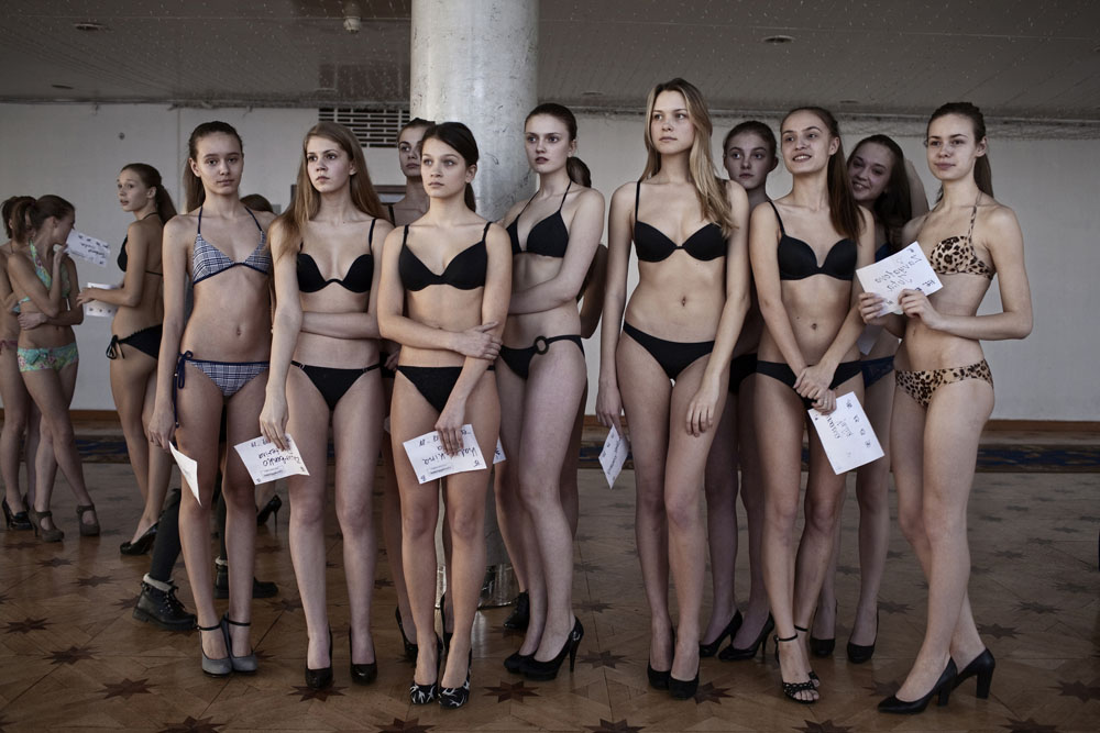 Russia: Young beauties for the world's catwalks