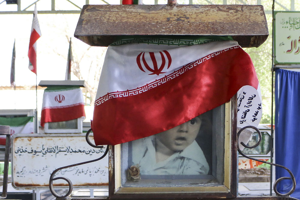 Iran: Their only monuments are those in graveyards