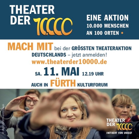 Aktionsflyer 11. Mai 2019 12.19 Uhr - Fürth Kulturforum