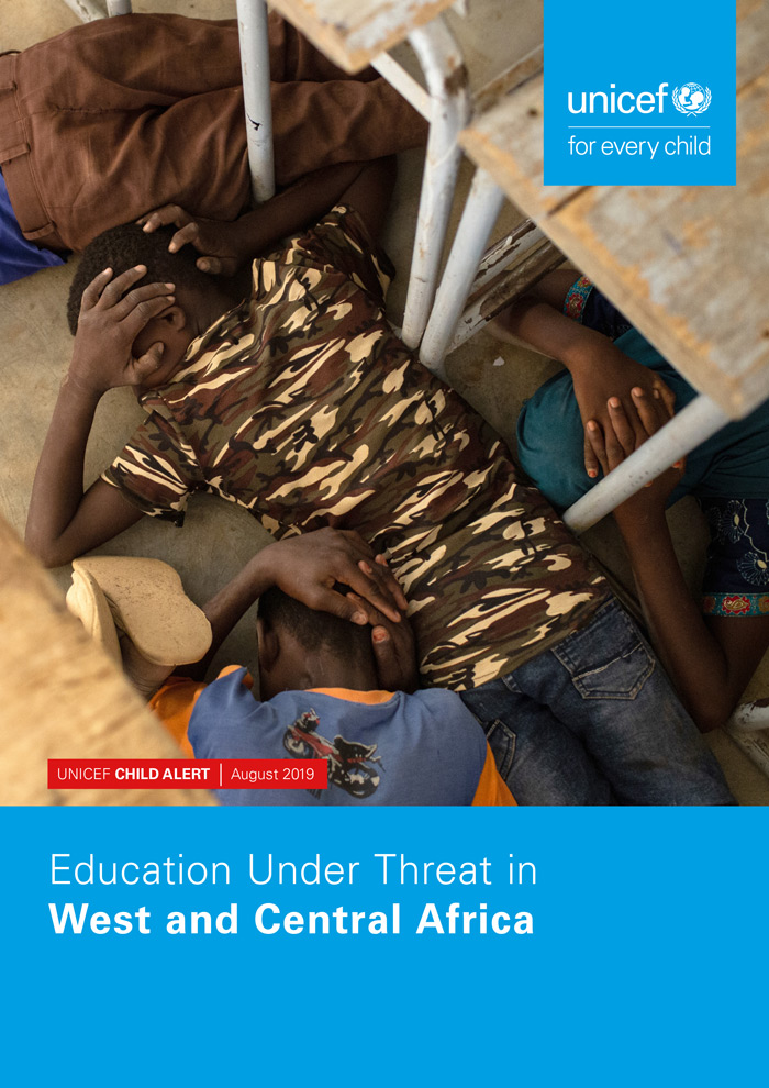 Deckblatt zum Report: Education under Threat in West and Central Africa