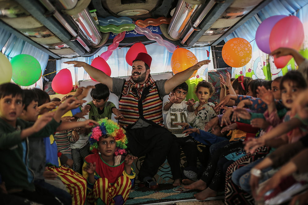 Syria: Too colorful to be true?