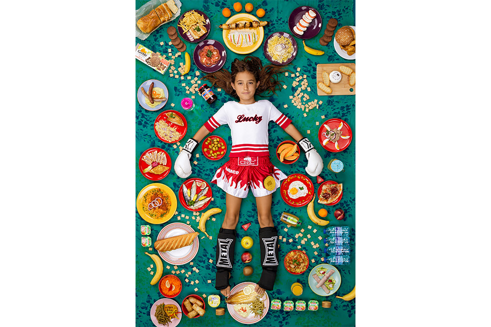 Four continents: What children eat (when they have something to eat)