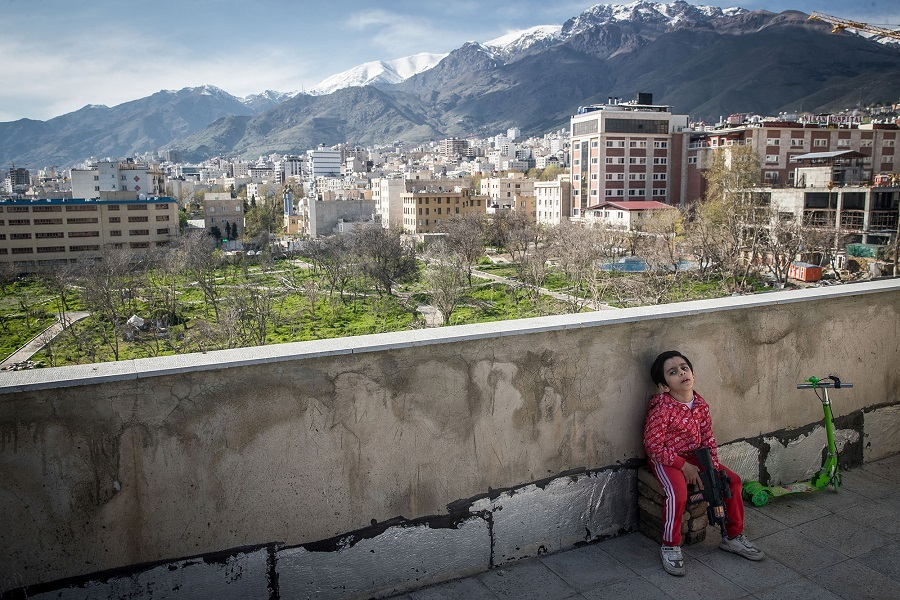 Iran: Corona – a piece of freedom on the rooftop