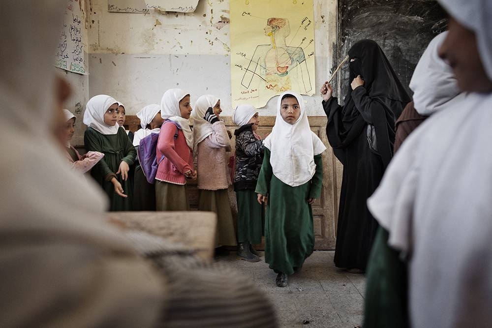 Yemen: I read, I write. © Laura Boushnak/Rawiya Collective