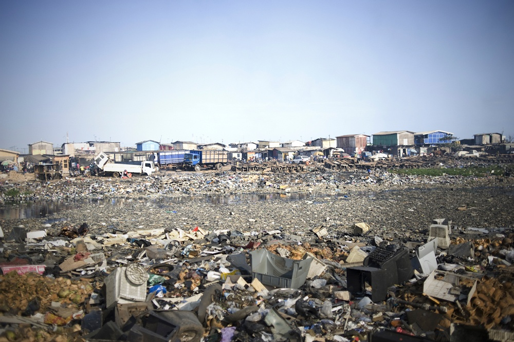 Ghana: Waste export to Africa. | © Kai Löffelbein/University of Applied Sciences and Arts, Hannover