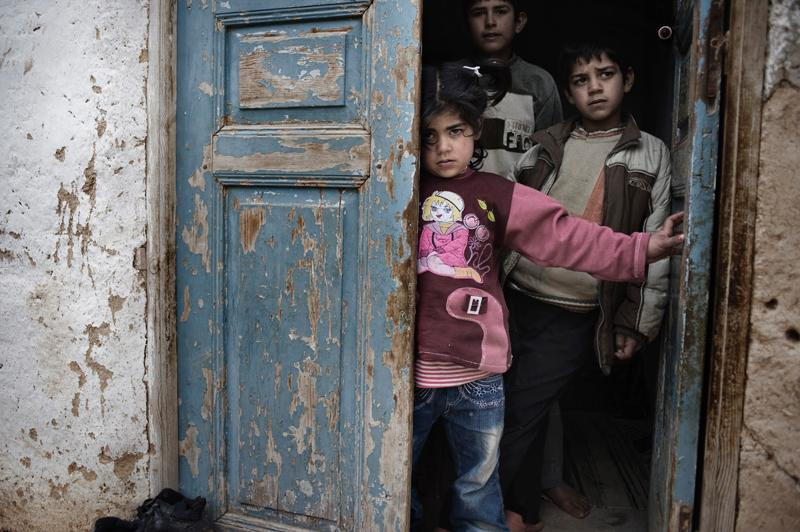 Syria: Children between the lines. © Alessio Romenzi/Agentur Corbis Images