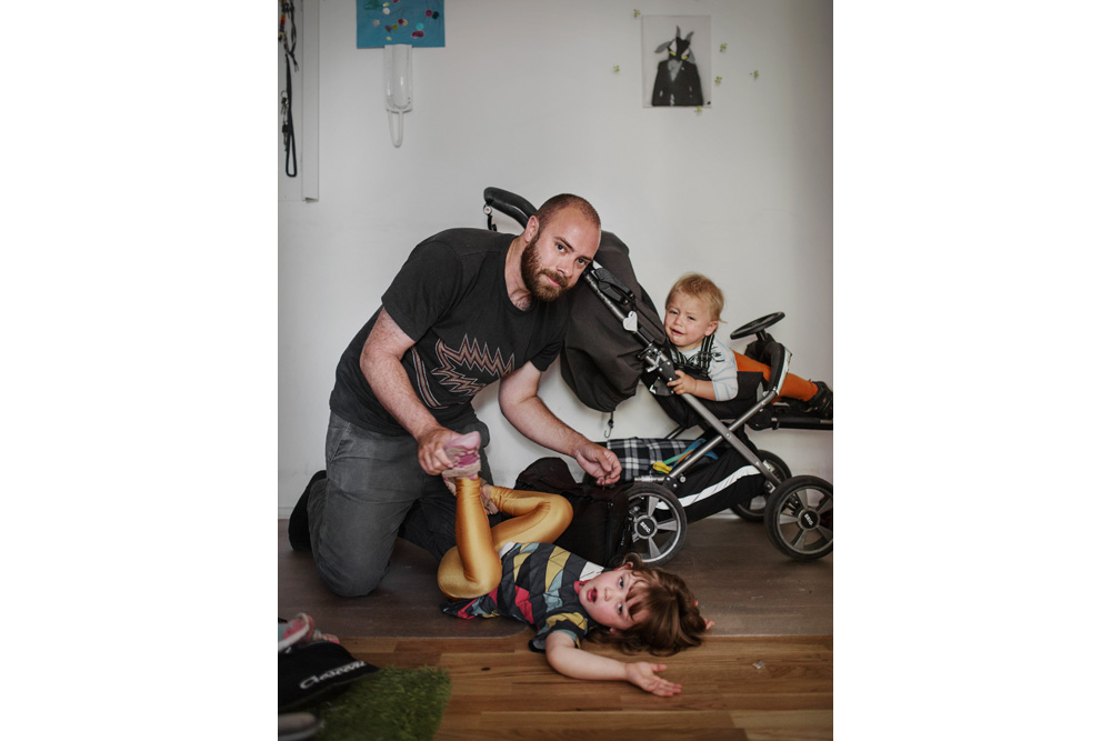 Sweden: Leave it to daddy! | © Johan Bävman (Freelance Photographer)