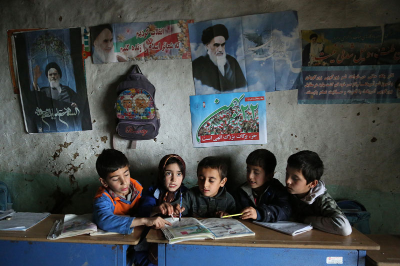 Iran: No distance too far to get to school | © Mohammad Golchin (Freelance Photographer)
