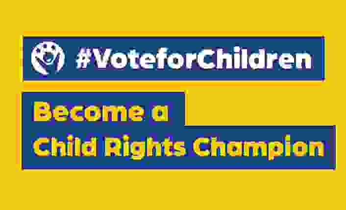 Kampagne #VoteforChildren: Become a Child Rights Champion